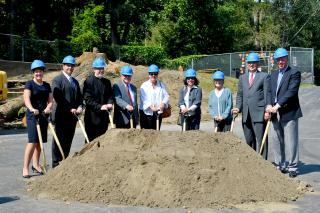 Ground Breaking Ceremony at Astor