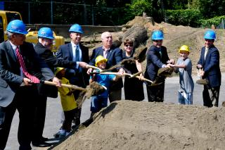 Legislators at Ground Breaking