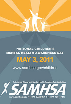 SAMHSA's National Children's Mental Health Awareness Day poster