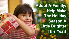 Adopt-A-Family: Make the holiday season a little brighter this year!