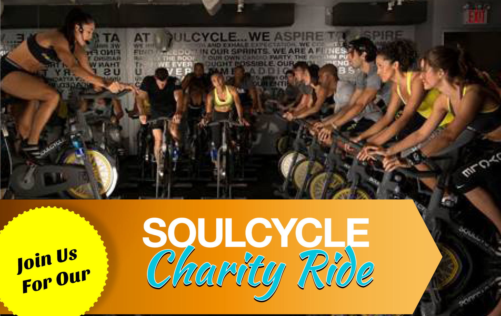 Soul Cycle Charity Ride