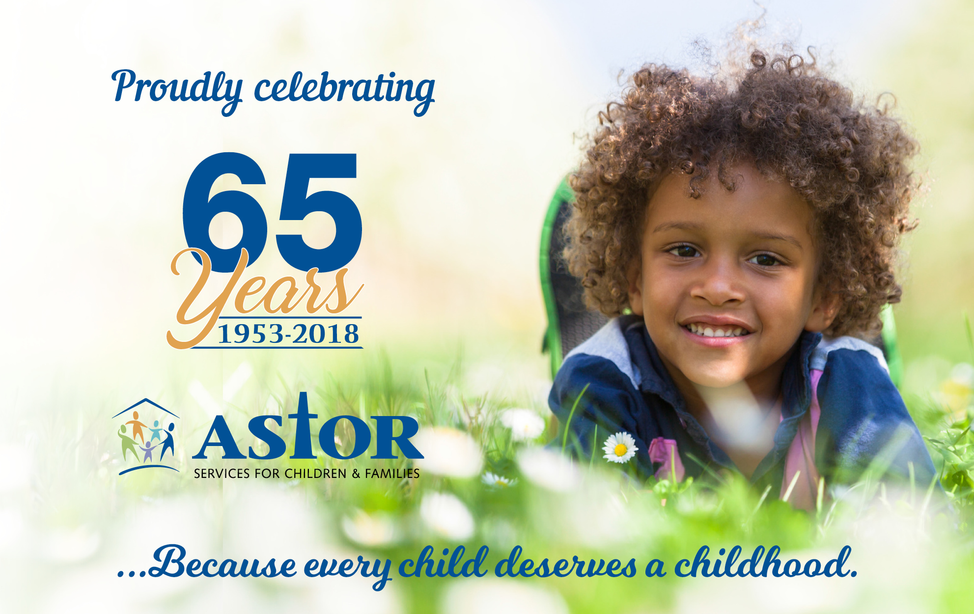 65th Anniversary Astor Services For Children Families Because