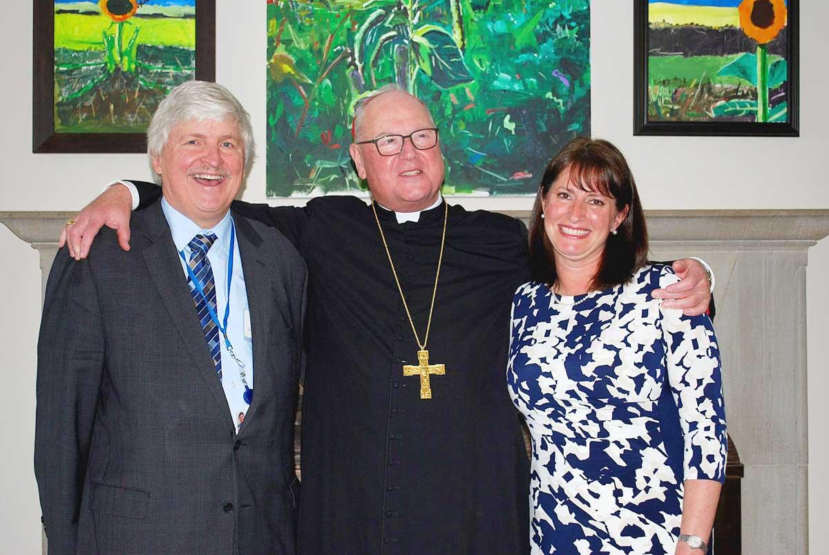 Cardinal Dolan Visits Astor 2018