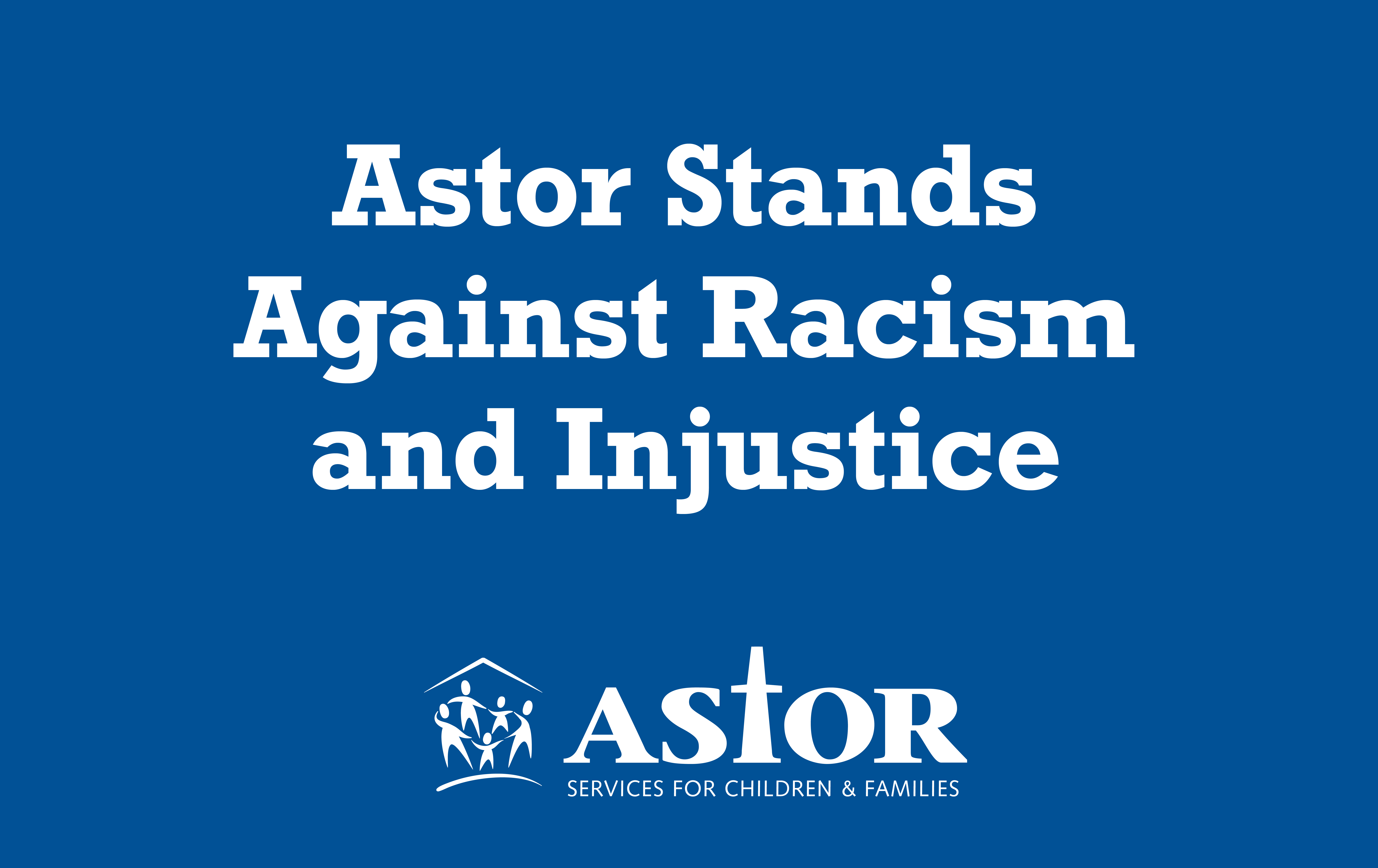 Astor Stands Against Racism
